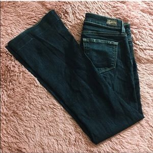 Paige Jeans Dark Wash Canyon Boot Cut Size 26
